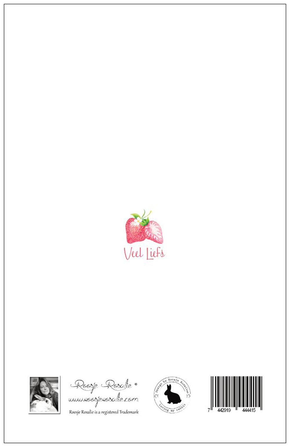 Strawberry achterkant